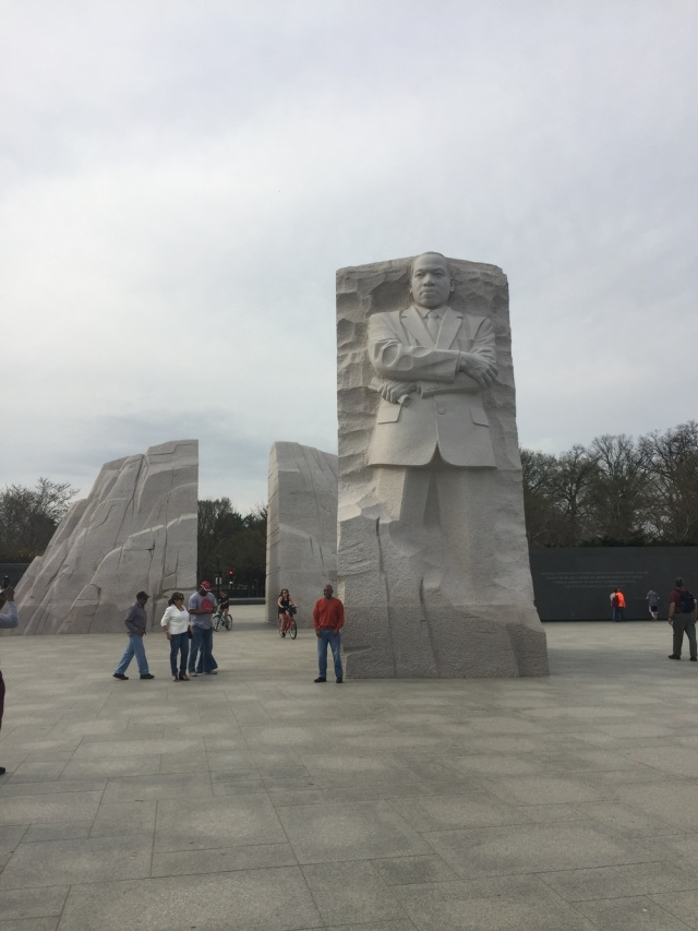 Martin Luther King Memorial.